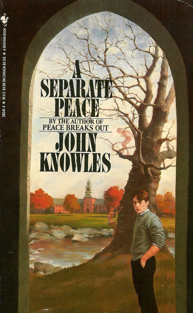 an analysis of a separate peace written by john knowles A separate peace study guide contains a biography of john knowles, literature essays, quiz questions, major themes, characters, and a full summary and analysis.